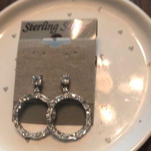 Sterling earrings never worn